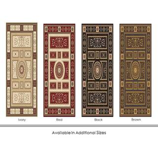 Home Dynamix Regency Collection Traditional Area Rug (2'7 x 7'6)
