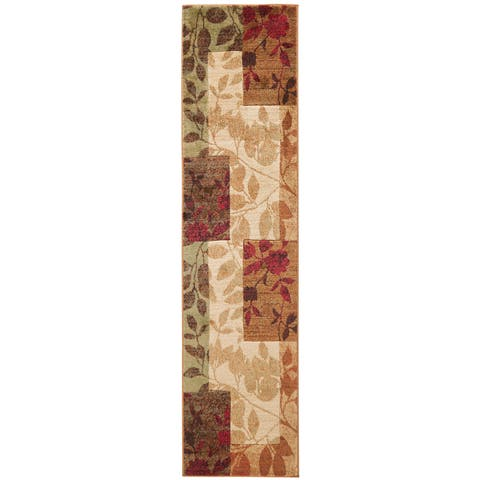Home Dynamix Tribeca Collection Multicolor Polypropylene Machine Made Area Rug