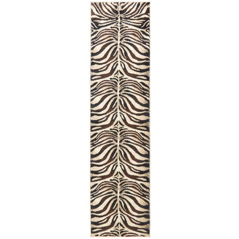 "Home Dynamix Tribeca Fawn Area Rug - 26""x18'"