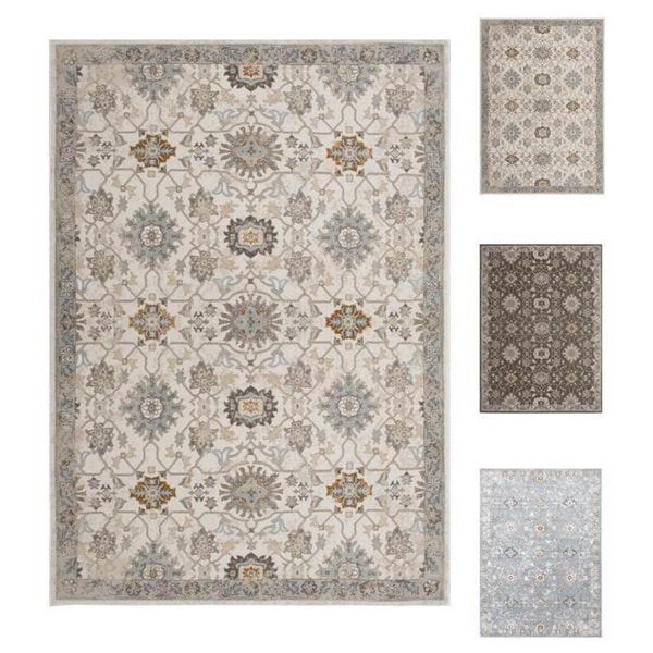 Home Dynamix Airmont Collection Traditional Polypropylene Machine Made Area Rug 39 X 51