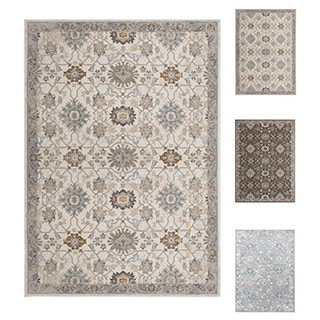 Home Dynamix Airmont Collection Traditional Polypropylene Machine Made Area Rug (39 x 51) (Option: Taupe)