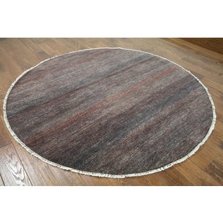 Hand-knotted Gabbeh Multi-color Wool Area Rug (6'1 x 6'1)