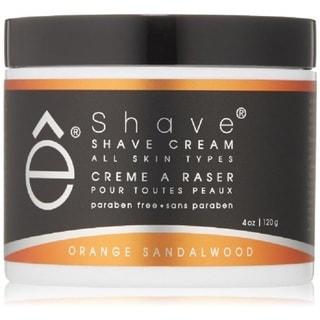 eShave Orange Sandalwood 4-ounce Shaving Cream