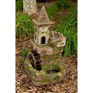 35-inch Castle Tiered Fountain