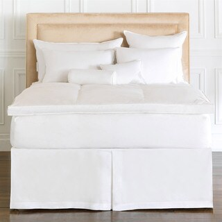 Alexander Comforts Manchester Gussetted White Goose Down Featherbed (More options available)