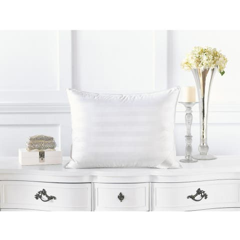 Alexander Comforts Strasbourg Medium Weight White Down Pillow
