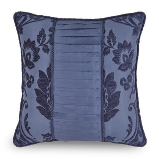 Downton Abbey Aristocrat Teal Pieced Decorative Throw Pillow