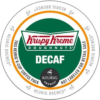 Krispy Kreme Decaf K-Cup Portion Pack for Keurig Brewers
