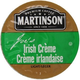Martinson Coffee Irish Creme K-Cup Portion Pack for Keurig Brewers