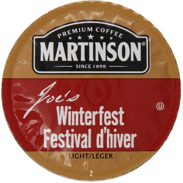 Martinson Coffee Winterfest K-Cup Portion Pack for Keurig Brewers
