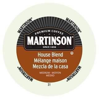 Martinson Coffee House Blend, K-Cup Portion Pack for Keurig Brewers