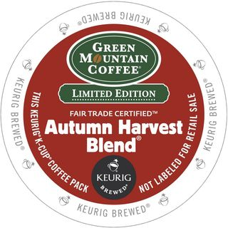 Green Mountain Coffee Autumn Harvest K-Cup Portion Pack for Keurig Brewers