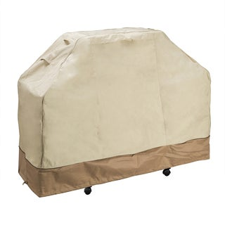 Villacera High Quality Grill Cover Beige and Brown Medium