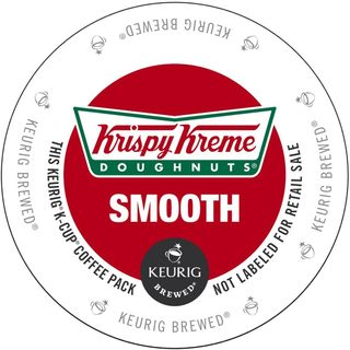 Krispy Kreme Smooth K-Cup Portion Pack for Keurig Brewers