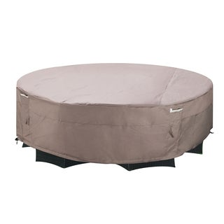 villacera high quality patio table and chair cover rectangle taupe large