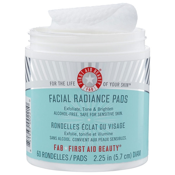 Facial radiance pads first aid beauty