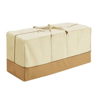 Villacera High Quality Patio Cushion Cover Bag Beige and Brown