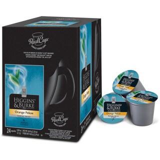 Higgins and Burke Specialty Tea Orange Pekoe K-Cup Portion Pack for Keurig Brewers