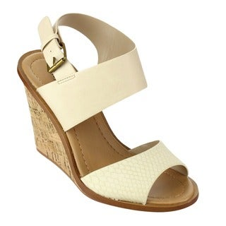 Beston Buckled Ankle Strap Sandals