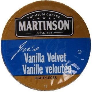 Martinson Coffee Vanilla Velvet K-Cup Portion Pack for Keurig Brewers