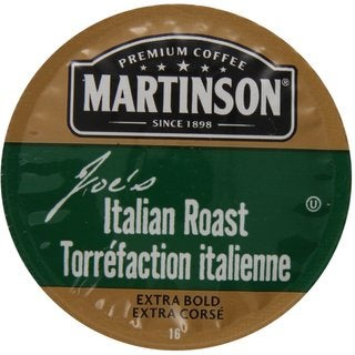 Martinson Coffee Joe'S Italian Roast K-Cup Portion Pack for Keurig Brewers