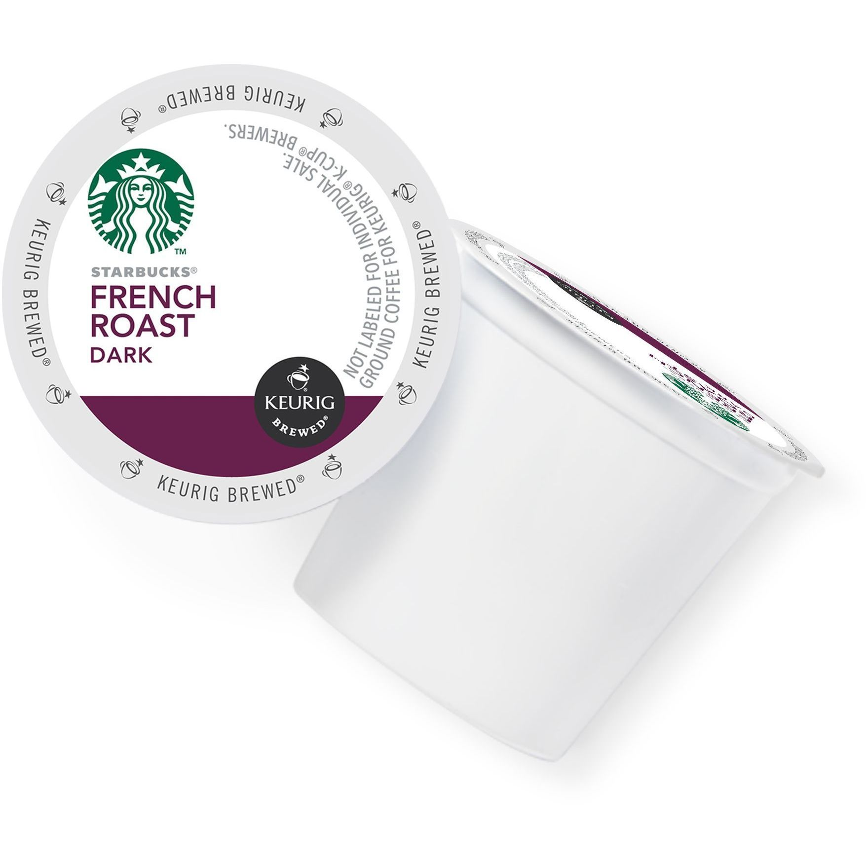 Starbucks Coffee French Roast Coffee K-Cup Portion Pack f...