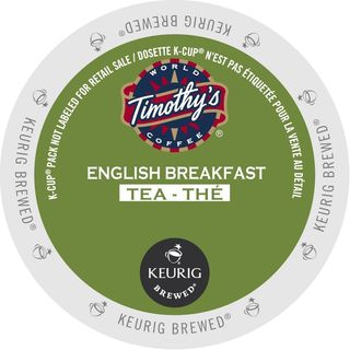 Timothy's English Breakfast Tea K-Cup Portion Pack for Keurig Brewers