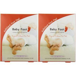 Baby Foot Lavender Easy Pack 1.2-ounce Exfoliant Foot Peel (Pack of 2)|https://ak1.ostkcdn.com/images/products/11665545/P18594876.jpg?impolicy=medium