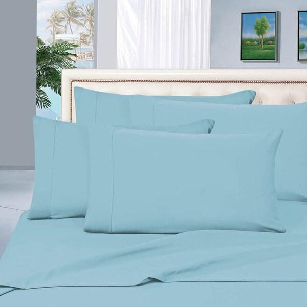 Elegant Comfort Luxury 6-piece Wrinkle Resistant Silky Soft Bed Sheet Set