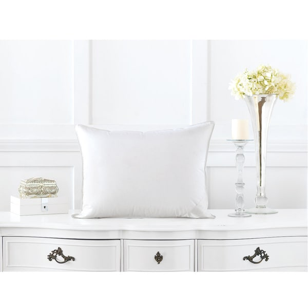 Alexander Comforts Surrey Medium Firm Hungarian White Goose Down Pillow. Opens flyout.