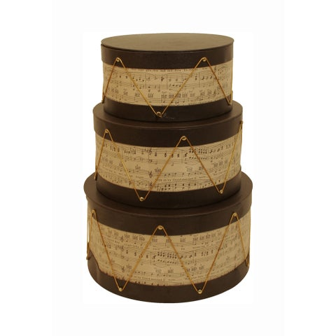 Sounds of The Seasons Musical Paperboard Stackers (Set of 3)