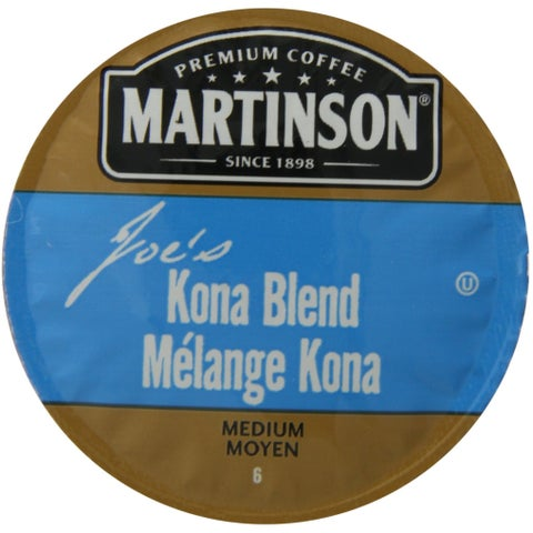 Martinson Coffee Joe's Kona Blend K-Cup Portion Pack for Keurig Brewers