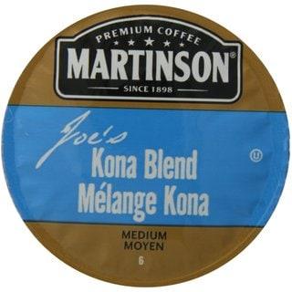 Martinson Coffee Joe's Kona Blend K-Cup Portion Pack for Keurig Brewers
