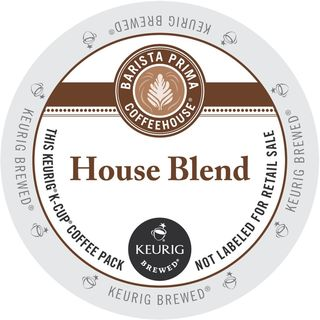 Barista Primahouse House Blend Coffee K-Cup Portion Pack for Keurig Brewers