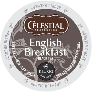 Celestial Seasonings English Breakfast Black Tea K-Cup Portion Pack for Keurig Brewers