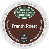 Green Mountain French Roast Coffee K-Cup Portion Pack for Keurig Brewers