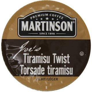 Martinson Coffee Tiramisu Twist K-Cup Portion Pack for Keurig Brewers