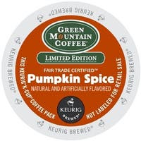 Green Mountain Coffee Pumpkin Spice K-Cup Portion Pack for Keurig Brewers