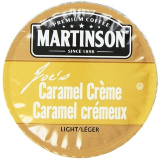 Martinson Coffee Caramel Creme K-Cup Portion Pack for Keurig Brewers