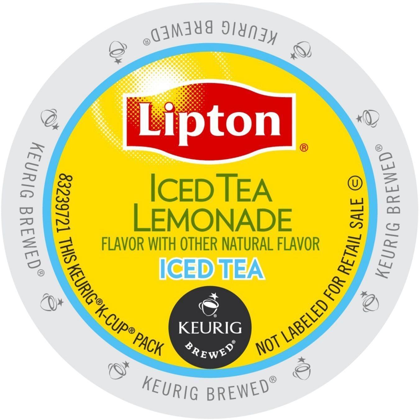 Lipton Iced Tea Lemonade K-Cup Portion Pack for Keurig Br...