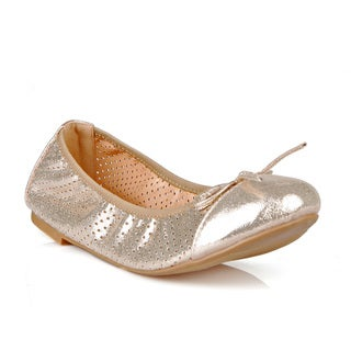 Mark and Maddux Clark-01 Perforated Women's Ballerina Flats
