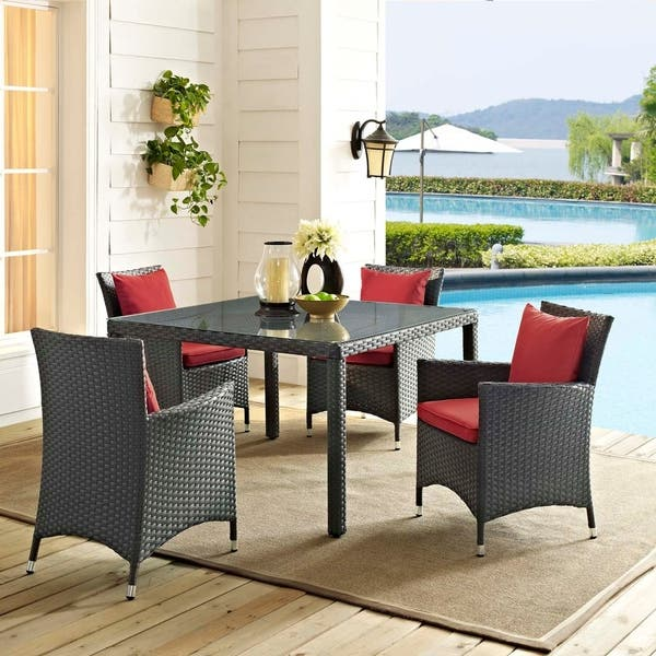 Astounding Shop Stopover Outdoor Patio Dining Chairs Set Of 4 On Spiritservingveterans Wood Chair Design Ideas Spiritservingveteransorg