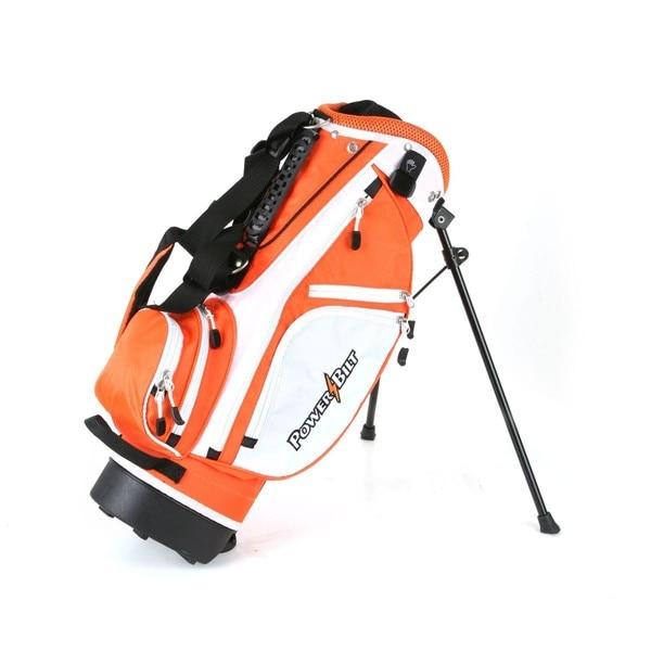 Powerbilt Golf Junior (Ages 3-5) Orange Stand Bag