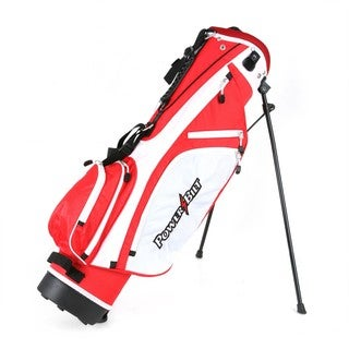 Powerbilt Golf Junior (Ages 12+) Red Stand Bag