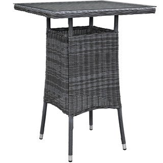 Invite Small Square Outdoor Patio Bar Table