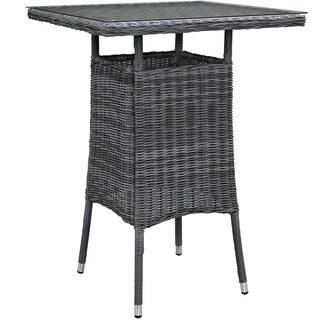 Invite Small Square Outdoor Patio Bar Table