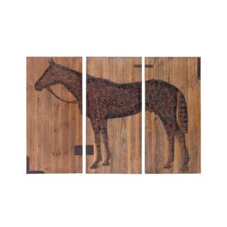 Distressed Equestrian Print