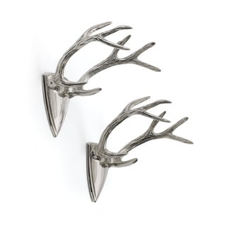 Antler Hanging Shield Set of 2