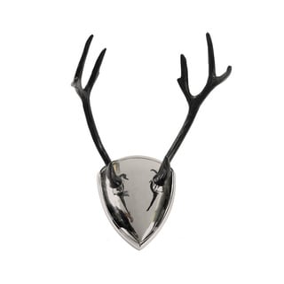 Antler Wall Art Plaque