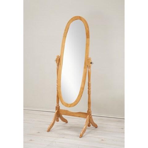 Laurel Creek Frank Traditional Queen Wooden Floor Cheval Mirror